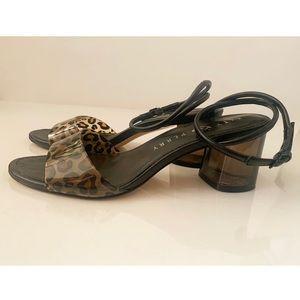 Katy Perry Block Heel Leopard Sandals